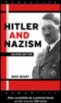 Hitler and Nazism by Dick Geary book cover