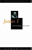 James 1 by Christopher Durston book cover