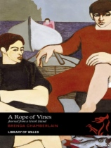 A Rope of Vines: Journal From a Greek Island by Brenda Chamberlian book cover