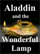 Aladdin and the Wonderful Lamp by S. Lane Poole book cover