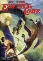At the Earth's Core by Edgar Rice Burroughs book cover