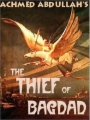 The Thief of Bagdad book cover.