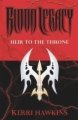 Blood Legacy: Heir to the Throne book cover.