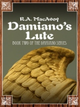 Damiano's Lute by R. A. MacAvoy book cover