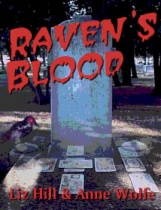 Raven's Blood by Liz Hill and Anne Wolfe book cover