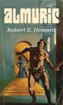 Almuric by Robert E. Howard book cover