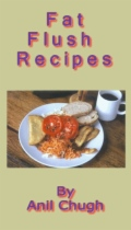Fat Flush Recipes by Anil Chugh book cover