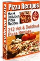 212 Hot And Delicious Pizza Recipes by Anonymous book cover