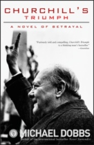 Churchill's Triumph by Michael Dobbs book cover
