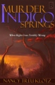 Murder at Indigo Springs book cover