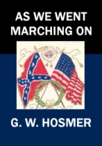 As We Went Marching On by G. W. Hosmer book cover