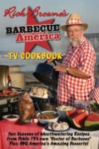 Barbecue America TV Cookbook by Rick Browne book cover