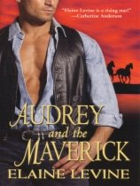 Audrey and the Maverick by Elaine Levine book cover
