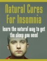 Natural Cures For Insomnia book cover