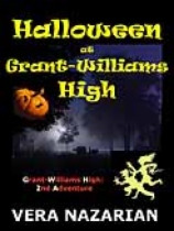 Halloween at Grant-Williams High by Vera Nazarian book cover