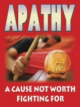 Apathy - A Cause Not Worth Fighting For by Simon Satori Hendley book cover