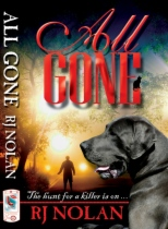 All Gone by Rj Nolan book cover