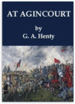 At Agincourt by G. A. Henty book cover
