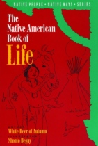 The Native American Book of Life by Shonto Begay and Deer of Autumn White book cover