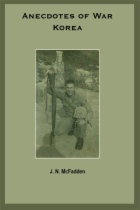 Anecdotes of War: Korea by J. N. McFadden book cover