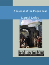 A Journal of the Plague Year by Daniel Defoe book cover
