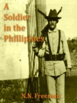 A Soldier in the Philippines by N. N. Freeman book cover