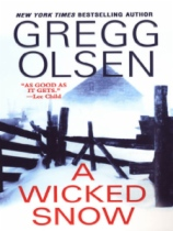 A Wicked Snow by Gregg Olsen book cover