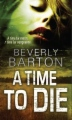 A Time to Die book cover